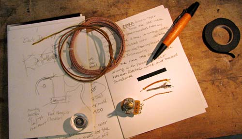 Journal wires