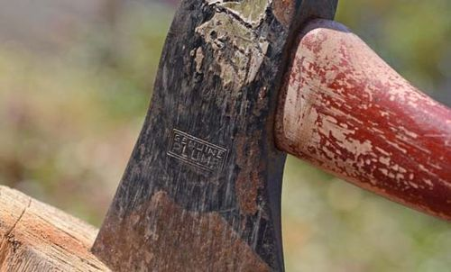 Closeup Hatchet